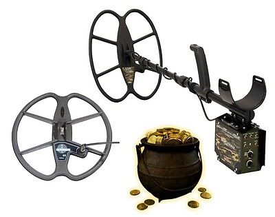 Detech Relic Striker PRO PACK  Professional Metal & Gold Detector WITH 2 COILS