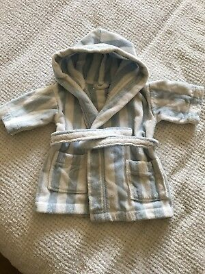 Little White Company Hooded Dressing Gown. 12-18 Months, Excellent Condition
