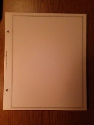 Minkus 50 new double sided blank pages for Global albums