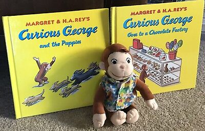 Curious George Plush And Books
