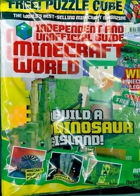 Minecraft World Magazine Issue #40 ~ New Sealed Pack ~