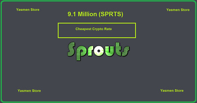 9,100,000 Sprouts (SPRTS) CRYPTO MINING-CONTRACT (9.1 Million SPRTS)