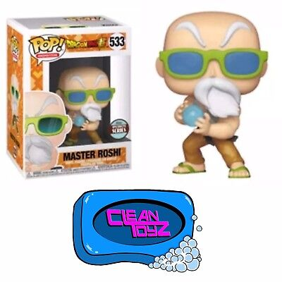 Funko Pop! Dragon Ball Z: Master Roshi Specialty Series Exclusive PRE-ORDER