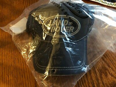 (3) Land Rover Embroidered Trademark Baseball Cap Golf Hat