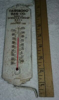 Dagsboro bag co. Dagsboro Delaware advertising thermometer NOT poultry L@@K