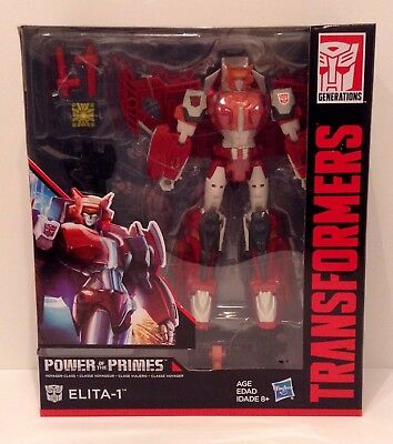Transformers Generations POWER of the PRIMES - Elita-1 Voyager NEW MIB