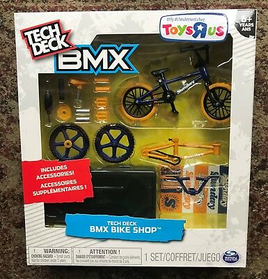 Tech Deck Bmx Bike Shop With Accessories Bmx United