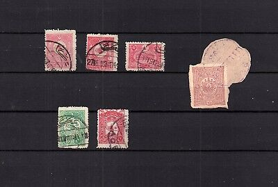 "PALESTINE - Ottoman Empire "" ACCA"" CANCEL COLLECTION Used STAMPA LOT ( TUR 11)"