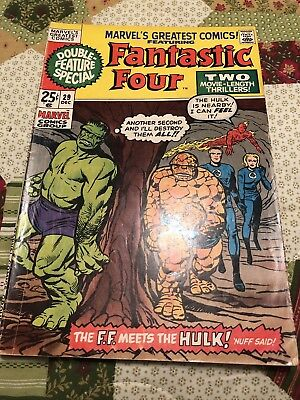 Marvel's Greatest Comics #29 Hulk Vs Thing Key Issue