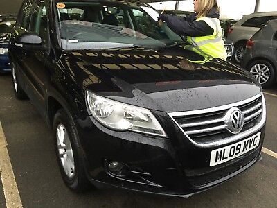 09 Vw Tiguan 2.0 Tdi 140 S 4Motion Manual - 7 Stamps, Nav, Air-Con, Lovely Car!