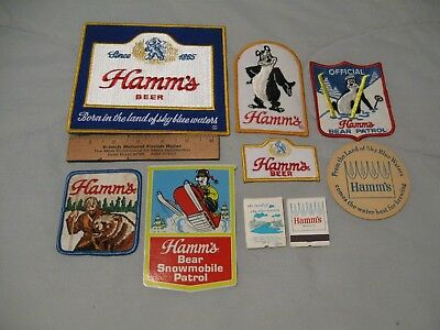 Hamm's Beer Items=9 Pieces Total