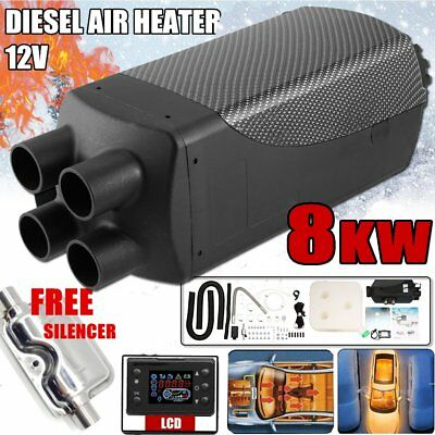 12V 8000W LCD Monitor Air Diesel Heater PLANAR 8KW for Car Trucks Motor-Homes NU