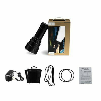 Imalent DX80 32,000 Lumen Rechargeable Search Light CREE XHP70.2 LEDs UU