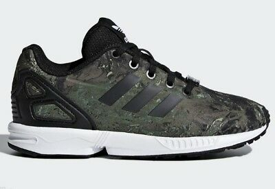 78e8c8a267731 Infant Boys Kids Adidas ZX FLUX Junior Trainers Size UK 10K - 2 Limited  Edition