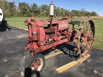 1937 Farmall F-12 Tractor IH SN FS100540 F-14 F20 F30 One Owner Family Farm