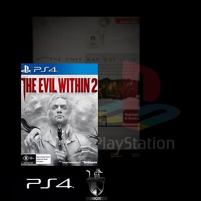 Ps4 / The Evil Within 2 (Ps4 Game) Brand New, Free Postage.
