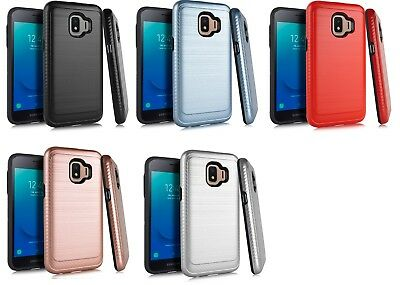 For Samsung Galaxy J2 Core / Dash / Pure / J2 (2019) Lining Hybrid Case Cover