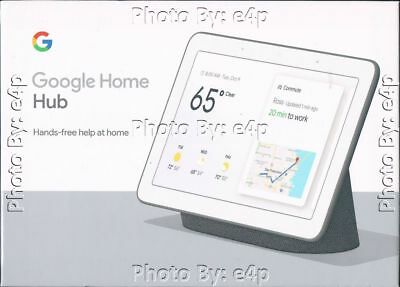 """GOOGLE HOME HUB 7"""" GOOGLE ASSISTANT WI-FI ANDROID iOS BRAND NEW FACTORY SEALED!!"""