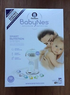 NEW in box Gerber BabyNes  Baby Formula Dispenser w/WiFi connect to smart phone