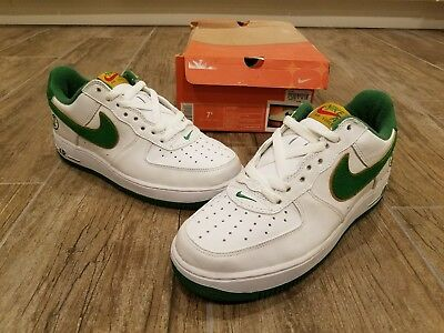2004 Nike Air Force 1 Laser Pack Mark Smith Brown Sail Eldorado