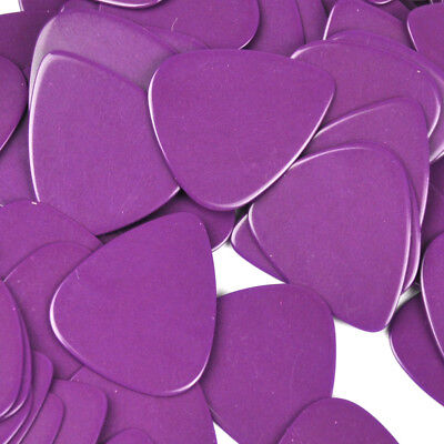 100pcs/lot Solid Purple Medium 0.71mm Gauge Guitar Picks Plectrums Celluloid New