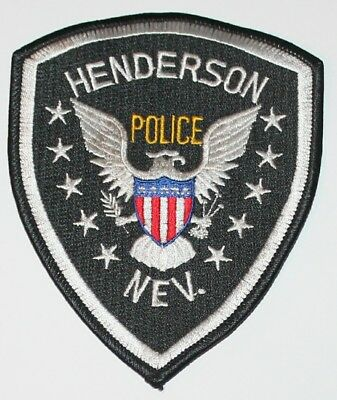 HENDERSON POLICE Nevada NV Nev PD patch