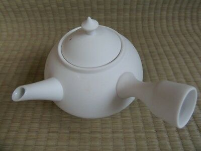 Pottery kettle / Teapot / With Lid / Tea ceremony / KYUSU / Japanese Vtg / 83g