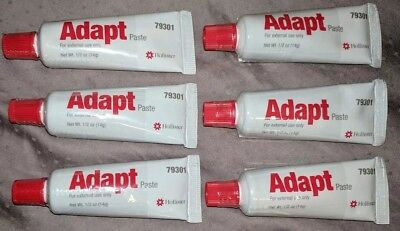 * 4 TUBES * NEW * Hollister Adapt Paste .5 oz Each, Ref#79301. Free shipping!!