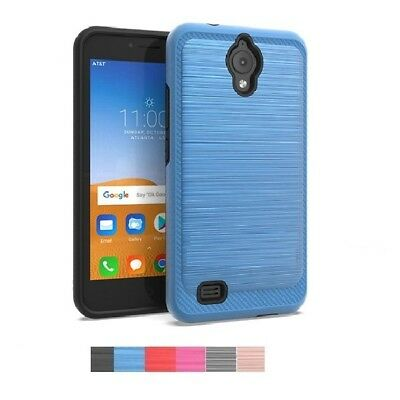Phone Case for AT&T AXIA / AT&T AXIA (Cricket Vision), Brushed Style Cover