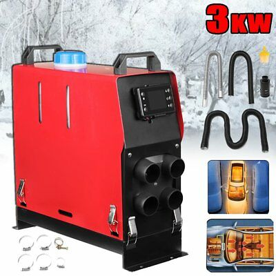 3000W Air Diesel Heater Planar 3KW/12V For Trucks Car Motor-Homes Boat Bu Van NU