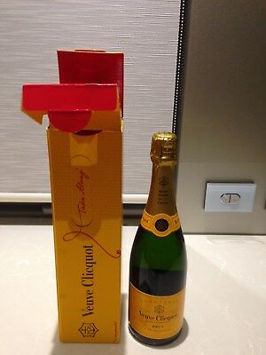 Veuve Clicquot Champagne 750 Ml Brand New In Box