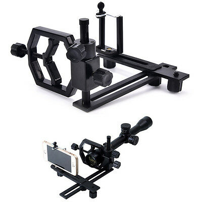 Tripod head holder support mount adapter camera phone attach spotting scope IN