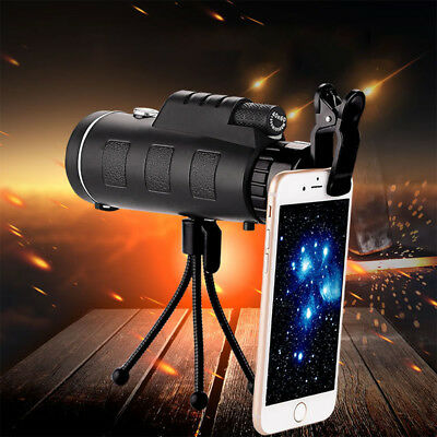 New 40X60 Monocular Telescope HD Mini Monocular for Outdoor Hunting Camping