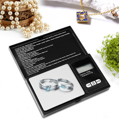 High Precision Electronic LED Digital Pocket Jewellery Scales Durable Portable