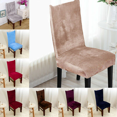 Dining Chair Covers 4/8/16Pcs Wedding Party Home Seat Covers Stretch Spande