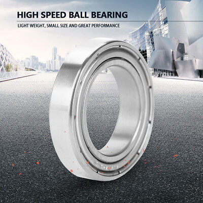 5/10Pcs High Speed Double-Sided Seal Single Roll Deep Groove Ball Bearings HighQ