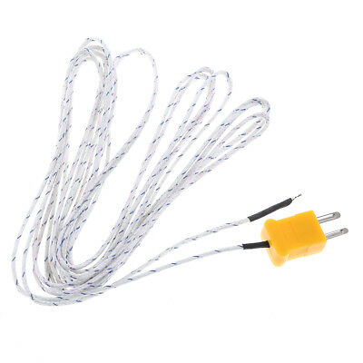 1PC 5m K type temperature sensor thermocouple probe cable wire   X