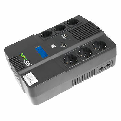 Green Cell UPS/Uninterruptible power supply 600VA 360W with LCD Line Interactive