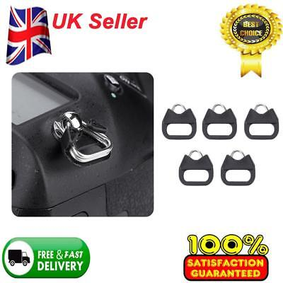 5PCS Replacement Alloy Split Ring Triangle Rings Hook for Camera Shoulder Strap.