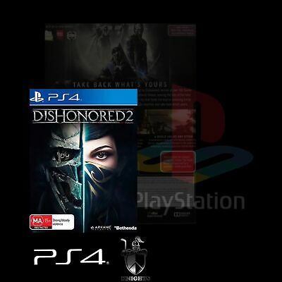 Ps4 / Dishonored 2 (Ps4 Game) Brand New, Free Postage.