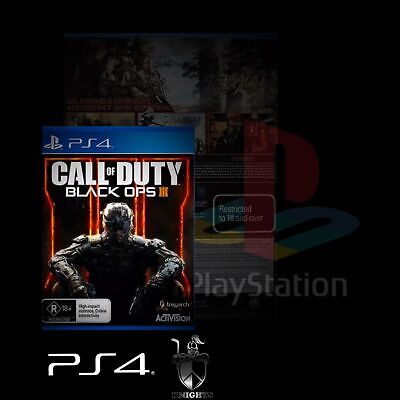 Ps4 / Call Of Duty Black Ops Iii (Ps4 Game) Brand New, Free Postage.