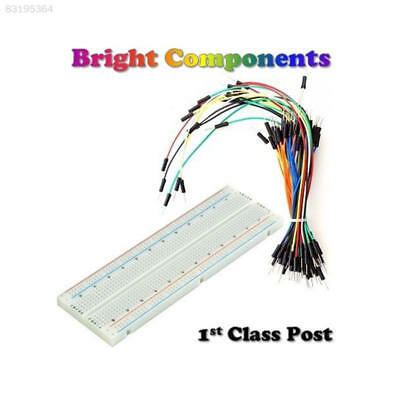 DCEB Solderless Prototype Breadboard 830,400,170 Points Holes + 65x Jumper Wires