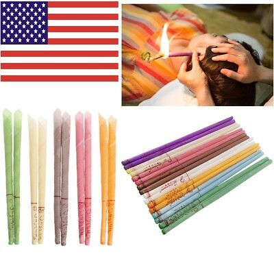 Ear Cleaner Wax Removal Candles Treatment Care Healthy Hollow Candles Sets USA