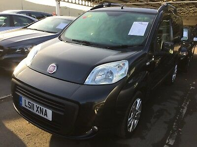 11 Fiat Qubo 1.3 M/jet 75 Dynamic Manual - 57K Miles, 1F/owner, Air-Con, Alloys