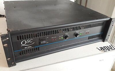 Amplificatore qsc Usa MX 2000a  2000 watt rarita!!