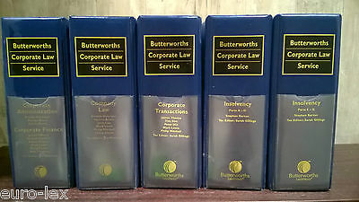Butterworth's Corporate Law Service Hannigan, Brenda/ Thorne, James/ Duthie, Ada
