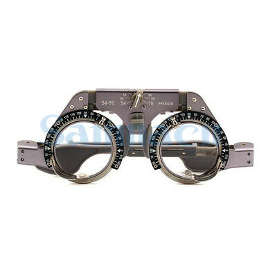 PD 54-70mm Adjustable Titanium Optometry Trial Lens Frame Light Weight