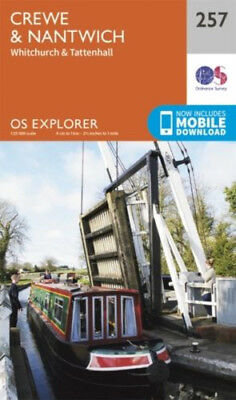 OS Explorer 257: Crewe and Nantwich, Whitchurch and Tattenhall