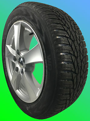 4 alloy winter wheels OPEL Astra K 225/45 R17 94V NOKIAN
