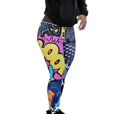 Women's Girls Workout Leggings Fitness Sports Gym Running Yoga Athletic Pants